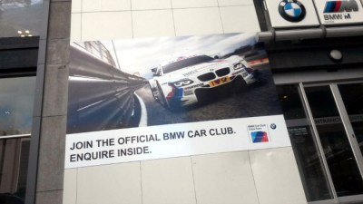 Promotional print - Auto Atlantic BMW