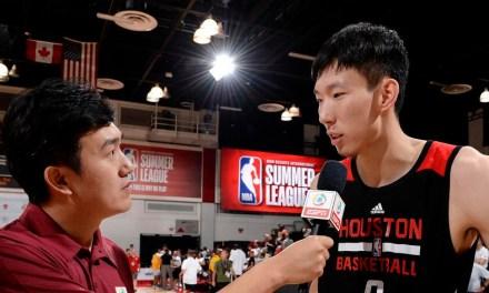 L'équipe des Rockets pour la Summer League est connue : Zhou QI pourra se mettre en jambe pour la course au MVP 2018-19