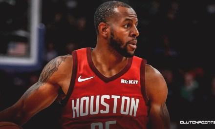 Andre Iguodala à Houston ? Il donne un début de réponse à un fan.