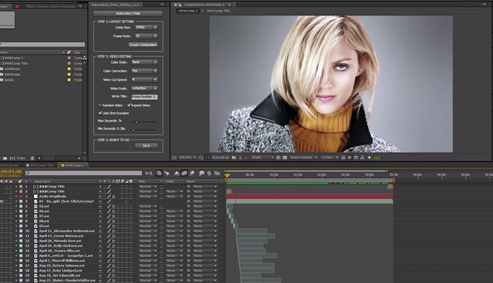 Automated Video Editing Cover Image