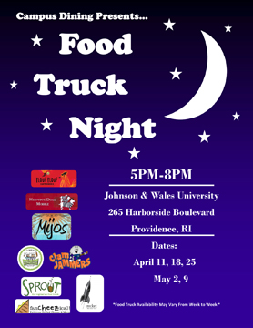food truck night flyer 2