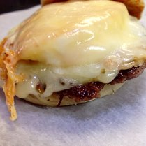 Sausage, Egg, and Cheese Muffin