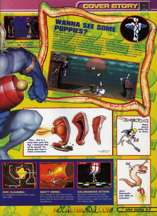 Earthworm Jim Collected