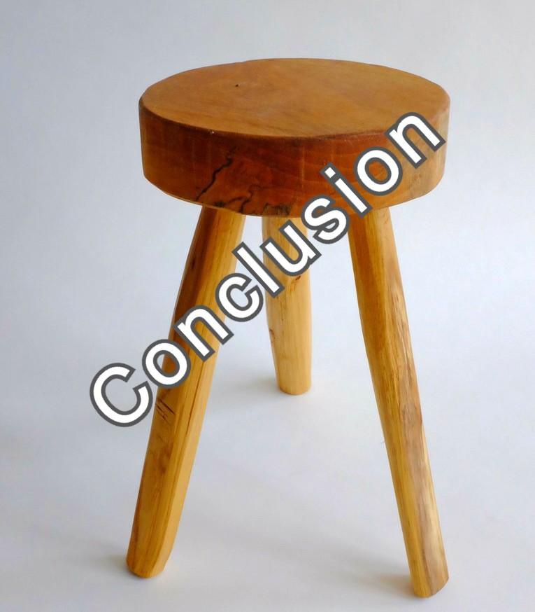 3 legged stool - conclusion