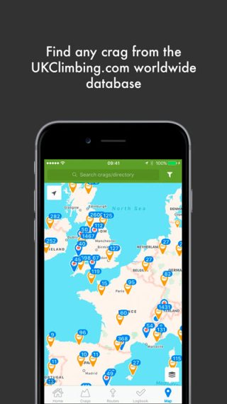 Maps-tab