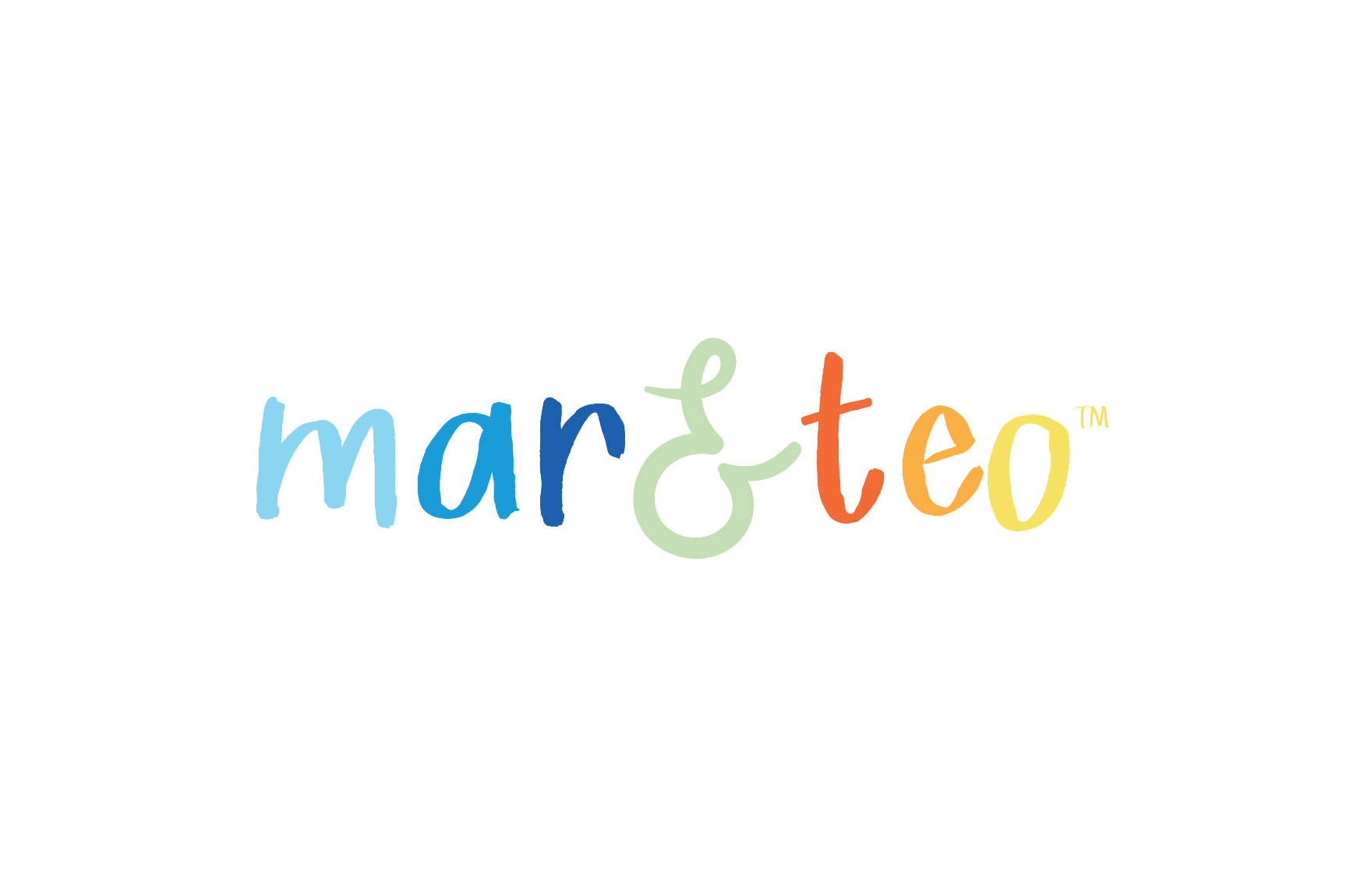 Mar & Teo logo created by Rockfish Media | Maryland Graphic Designer |