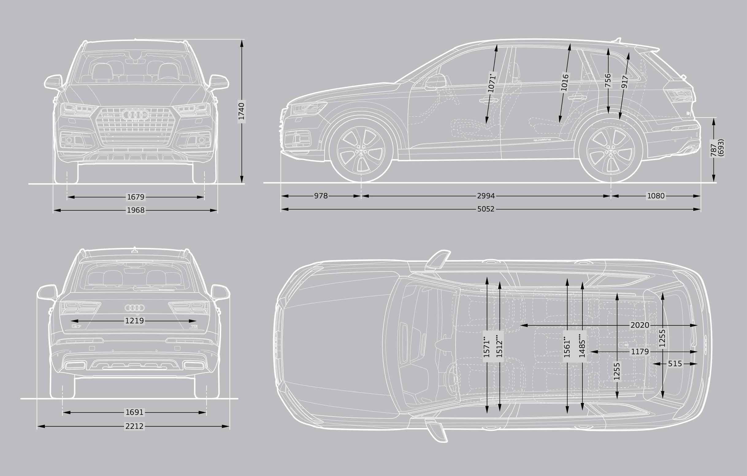 Audi Q7 S Line Plus