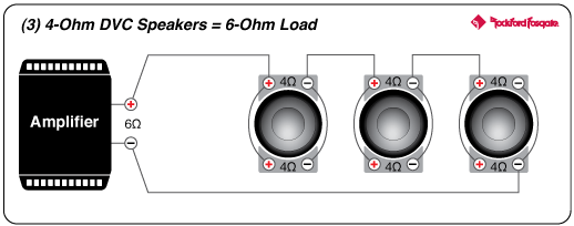 speaker wiring diagram 6 ohm 2005 scion xb radio prime 12 r2 4 dvc subwoofer rockford fosgate