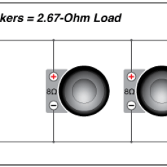 8 Ohm Wiring Diagram 2002 Ford Windstar Fuse 10 Punch P1 Svc Subwoofer Rockford Fosgate 3