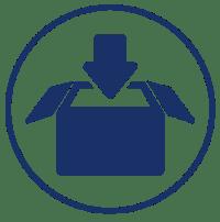 Cluster Icons-logistics-blue