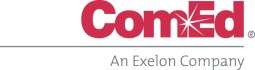 ComEd Logo in Red and Grey