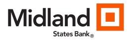 Midland States Bank Logo