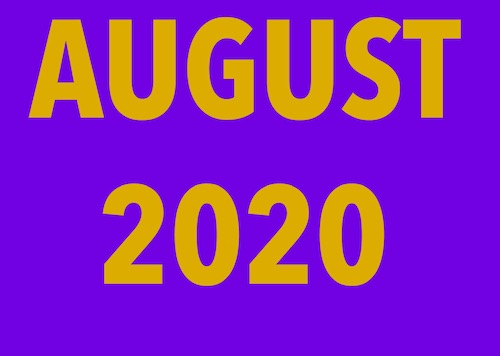 August 2020 summary: Interviewing celebrities, news content, Breaking Bad and the audio description petition in the media
