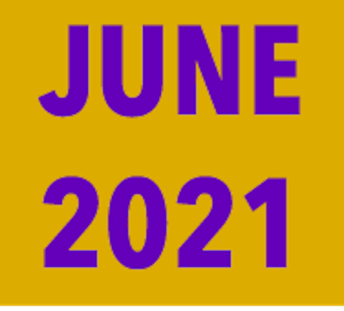 June 2021 summary: Experiencing some normality