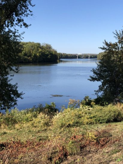 Connecticut River - the western border of Glastonbury, CT