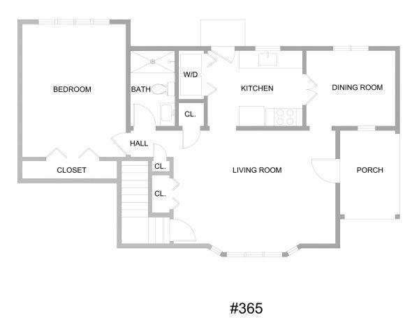 Unit #365 floorplan