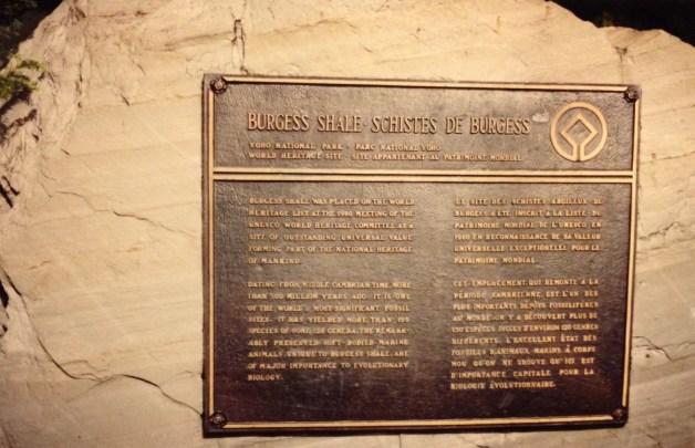 Burgess Shale Yoho National Park