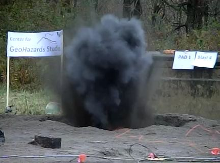 volcanic experiment