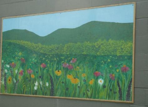 PUBLIC ART FLOWERS