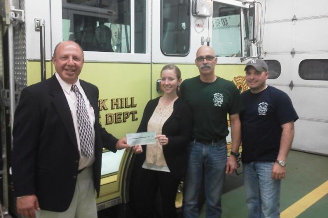 RHBCA and RH Fire Department Receive $5,000 Grant…