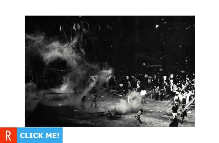 Led Zeppelin на концерте в Милане (фото)