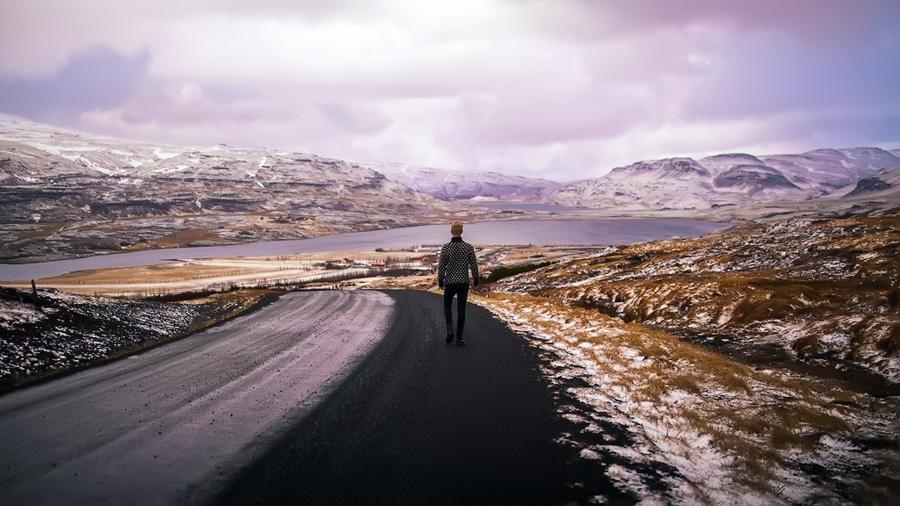 Selfieman в Исландии