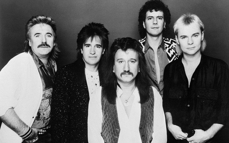 Состав Uriah Heep 1988 года (фото)