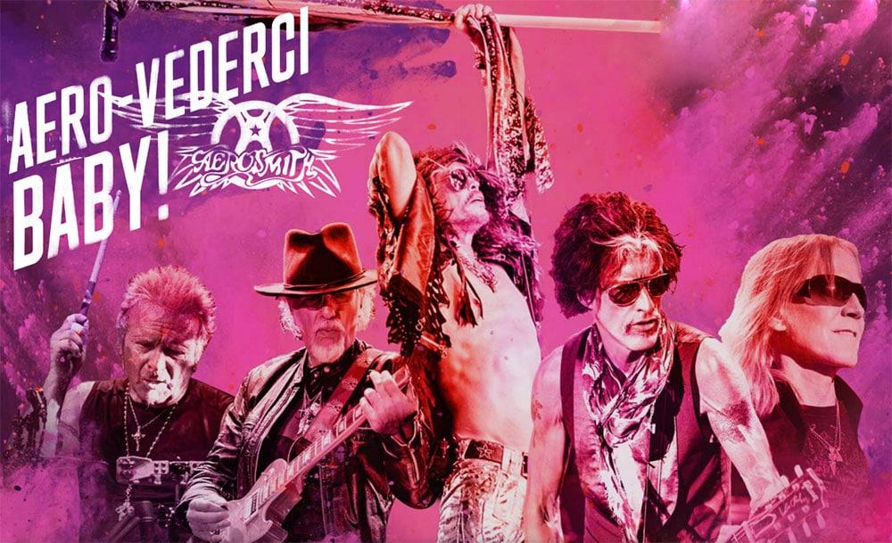 Группа «Aerosmith» едет в прощальный тур (фото)