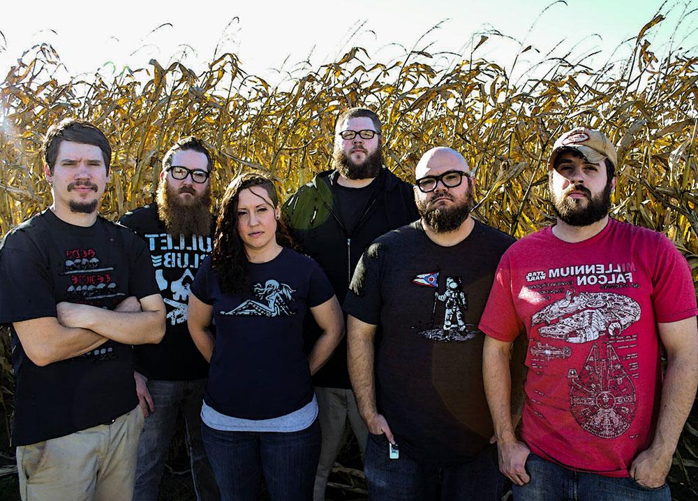 Группа Mississippi bones в полном составе (фото)