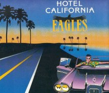 """hotel California"" Eagles Rockhit"