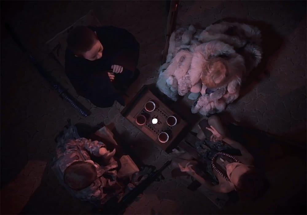 """Дети в клипе """"Пацифистский чай"""" группы """"Серый кит"""" (скриншот)"""
