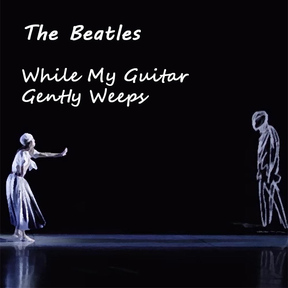 The Beatles While My Guitar Gently Weeps (кадр из клипа)