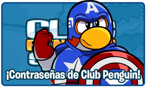 Contraseñas de Club Penguin: Pinguinos Socios y No Socios (1/6)