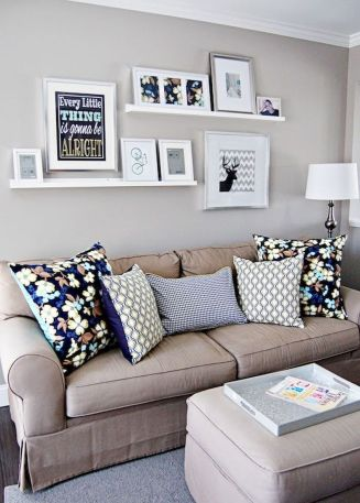 Furniture on budget for apartment living room 11