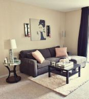 Furniture on budget for apartment living room 24