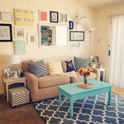 Furniture on budget for apartment living room 46