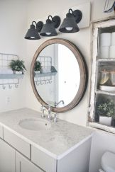 Rustic farmhouse style bathroom design ideas 51