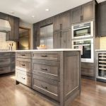 Rustic And Classic Wooden Kitchen Cabinet 16