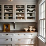 Rustic And Classic Wooden Kitchen Cabinet 26