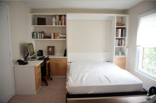 Saving space with creative folding bed ideas 25