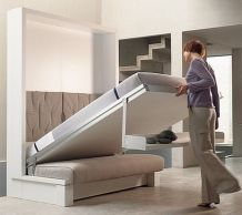 Saving space with creative folding bed ideas 3