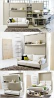 Saving space with creative folding bed ideas 4