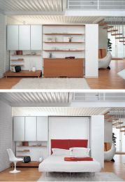 Saving space with creative folding bed ideas 59
