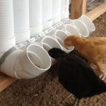 Chicken feeder from pvc 18