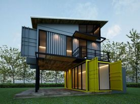 Best shipping container house design ideas 31