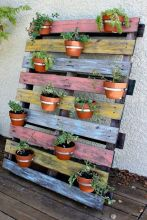 Amazing Creative Wood Pallet Garden Project 10