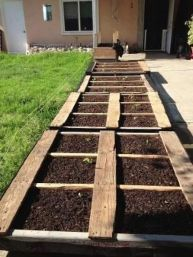 Amazing Creative Wood Pallet Garden Project 24