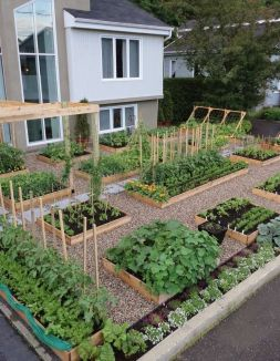 Amazing Creative Wood Pallet Garden Project 27