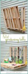 Amazing Creative Wood Pallet Garden Project 34