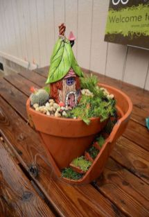 Amazing DIY Mini Fairy Garden for Miniature Landscaping 39